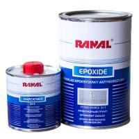 Грунт эпоксидный антикорозийный Ranal 1:1 0,8L+0,8L отв., серый