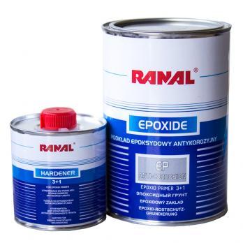 Грунт эпоксидный антикорозийный Ranal 3:1 0,75L+0,25L отв