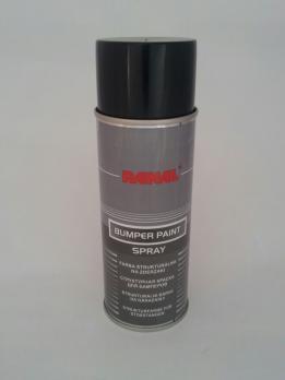 Краска для бампера структурная RANAL 400 ml. черная