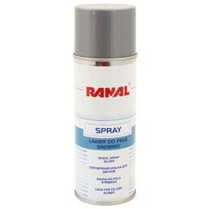 Краска серебрянная для дисков RANAL 400 ml.