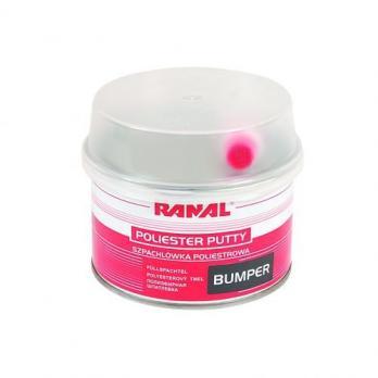 Шпатлевка Ranal BUMPER 0.5 kg. (полиэфирная шпатлевка для бамперов)