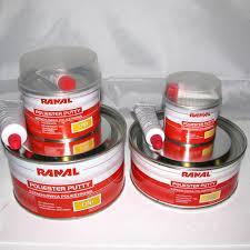 Шпатлевка Ranal UNI 0.25 kg. (универсальная полиэфирная)