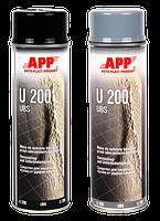 APP Антигравий аерозоль, U200 UBS, черный, 500ml (050204)