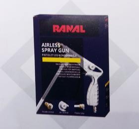 Пистолет воздушный RANAL для антигравитекса
