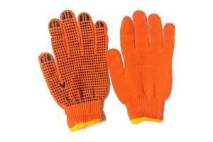 Перчатки тряпочные со спец покрытием дешёвые