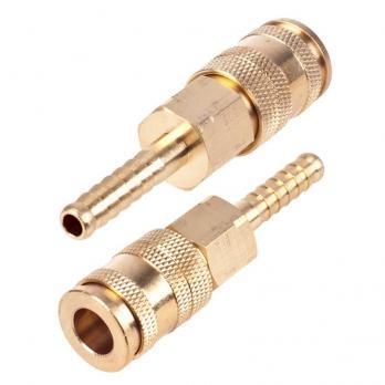 Alloid. Быстроразъемное соединение на шланг с фиксатором. 10 мм. (ПМ-4SH)