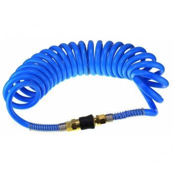 Шланг воздушный спиральный 10м Синий