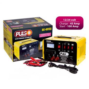 Пуско-зарядное устр-во PULSO BC-40155 12-24V/45A/Start-100ам/стрклочн.индик.