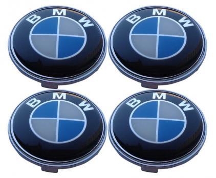Заглушка колесного диска BMW 69x65  66/68 (4шт.)