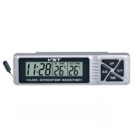 Термометр внутр. наруж./часы/подсветка VST-7066