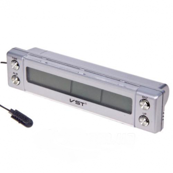 Термометр внутр. наруж./часы/подсветка VST 7036