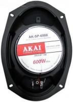 """AKAI AK-SP-6988 трёхполосные коаксиальные динамики.овалы. 6""""х9"""" (15.24x22.86 см)"""