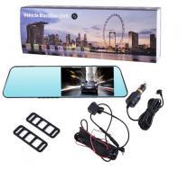 Автомобильный видеорегистратор-зеркало 1031, LCD 4.3, 2 камеры, 1080P Full HD