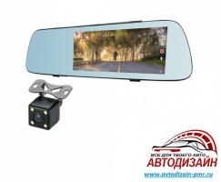 Видеорегистратор CELSIOR DVR M2 FHD двохкамерное зеркало 7