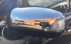 Накладки на Зеркала Хром MERS-210 с повортниками