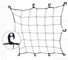 Сетка д/багажа эластичная 9551 B 1х1м/17см/10пл.крючков