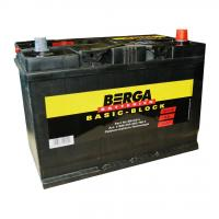 АКБ BERGA 95 Ah 830A(-+) ASIA  Basic Block BB-D31L