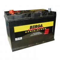 АКБ BERGA 95 Ah 830A(+ -) ASIA  Basic Block BB-D31R