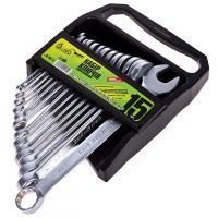Alloid. Набор ключей комбинированных (спеццена), 15 предметов, 6-22 мм
