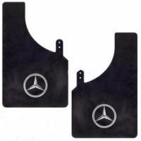 Брызговики MASTER SPORT Mercedes-Benz черный (малый) 2шт