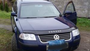 VW B-5+(ресталинг) с 2001-2005 г.в.Дефлектор капота.