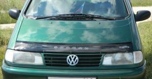 VW Sharan с 1995 – 2000 г.в.Дефлектор капота.