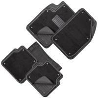 Коврики PVC съемный войлок КУ-16043 BK 5шт./компл. черные 74x50 47x50 23x50
