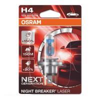 64193NL-01B Osram Лампа H4 12V 60/55W P43T Night Breaker Laser +150%
