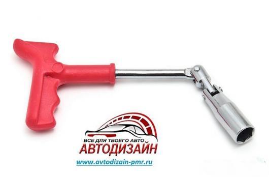Ключ свечной №21 мм King