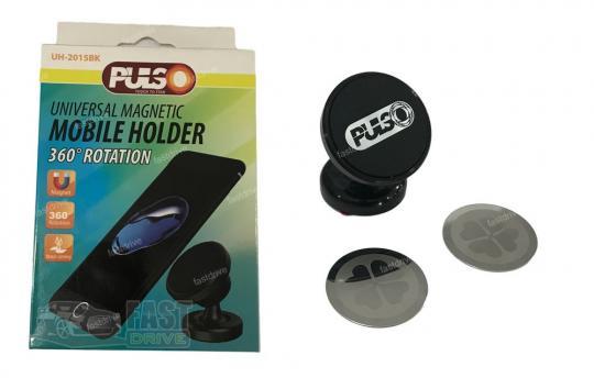Держатель мобильного телефона PULSO UH-2013BK магнитный на присоске