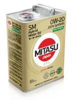 Масло MOLY-TRiMER SM 0W-20 GF-4 HYBRID 5л.MITASU, код MJ--M02