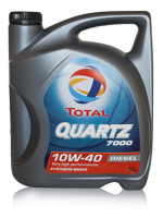 Масло Total Quartz 7000 Turbo Diesel 10W40 5л