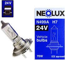 NeoLux 499A H-7 24v70w PX26D
