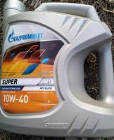 Масло Gazpromneft Super 10W-40 SG/CD 10W40 5 л.Газпромнефть