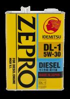 Масло IDEMITSU ZEPRO DIESEL DL-1 5W30 4л.