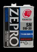 Масло IDEMITSU ZEPRO TOURING SN/GF-5 5W30 4л.