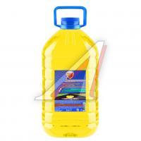 Жидкость Стеклоомыватель желтая Летняя ZOLLEX 5л