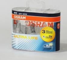 OSRAM 64150ULT DUO BOX H1 12V 55W P14,5S Ult