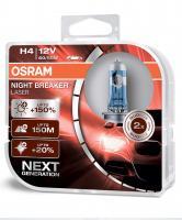 64193NL-HCB Osram Лампа H4 12V 60/55W P43T Night Breaker Laser +150% (2шт)