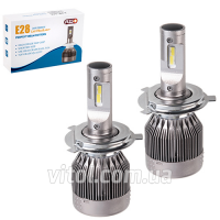 Лампы PULSO E28/LED/H4 P43T H/L/Flip Chip/12-24V/36W/3800Lm/6000K