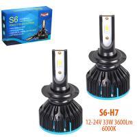 Лампы PULSO S6/LED/H7/Flip Chip/12-24V/33W/3600Lm/6000K