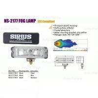 Фары дополнительные  NS-2177 B-C H3/12 В/55W/166*50mm