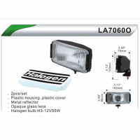 Фары дополнительные DLAA 7060 с белыми Крышками