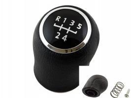 Ручка КПП  VW T5 T6 FX140  MKV MKVI (03-11) (черн. накладка) (6 скоростей)