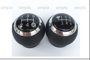 Ручка КПП TOYOTA черн. (5 скоростей) FX 285