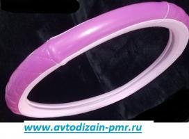 Чехол Руля Размер-M Розовый