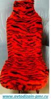 Чехлы мех украина Тигровые красный
