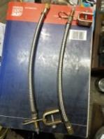 Удлинитель подкачки бронированный с креплен.JC 045 25см