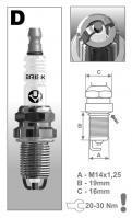 Свеча искровая BRISK DR15ТС 1329 (BMW 39)