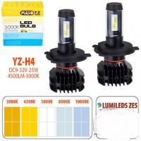 Лампы PULSO YZ/H4-H/L/LED-chips ZES-Philips/9-32v2*25w/4500Lm/3000-4300-5000-8000-10000K